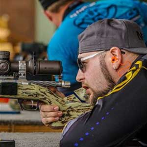 Ian Kelbly shooting for Team Kelbly Tactical